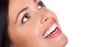 Mujer dientes Blancos